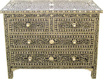 Leaf Pattern Chest of Drawers - I