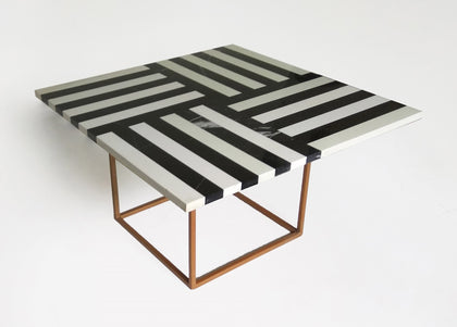 Linear Marble Table - I