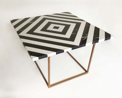 Linear Marble Table - III