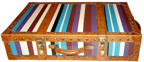 Blue Code Decorative Trunk,PortsideCafé, - Artisera