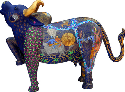 Kamdhenu 02,[product_collection],Emami Chisel Art,Seema Kohli - Artisera