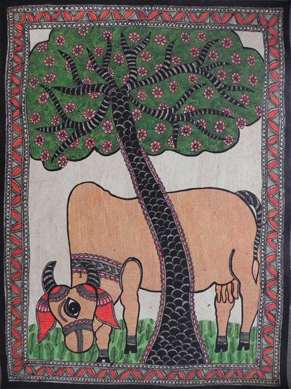 Madhubani - Untitled 06,[product_collection],Must Art,Chanderkala Devi - Artisera