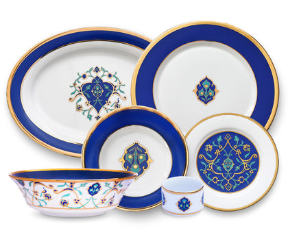 Shores of Persia 27 Piece Dinner Set