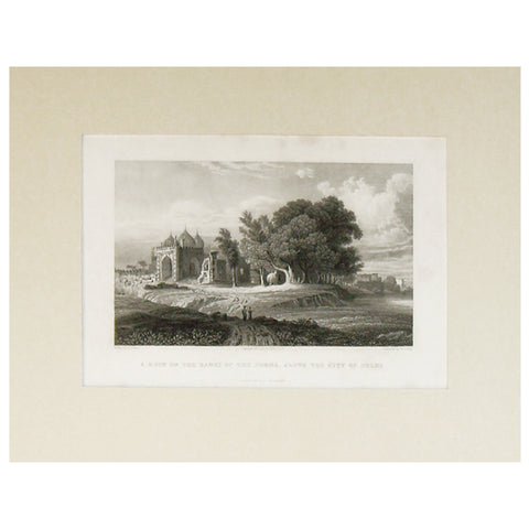Ruin on the Banks of the Jumna, 1831,La Boutique, - Artisera