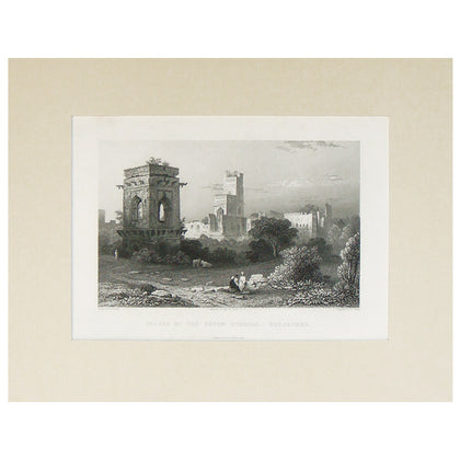 Palace of the Seven Stories, Beejapore, 1831,[product_collection],La Boutique, - Artisera