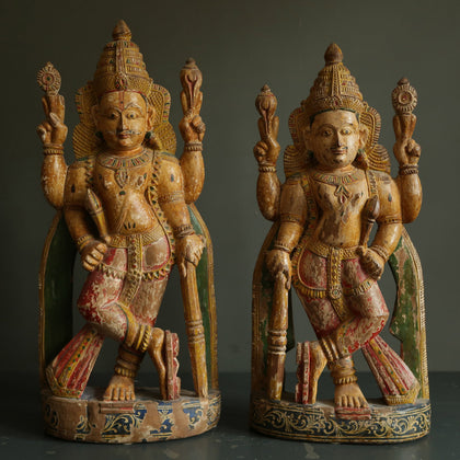 Pair of Dwarapalas