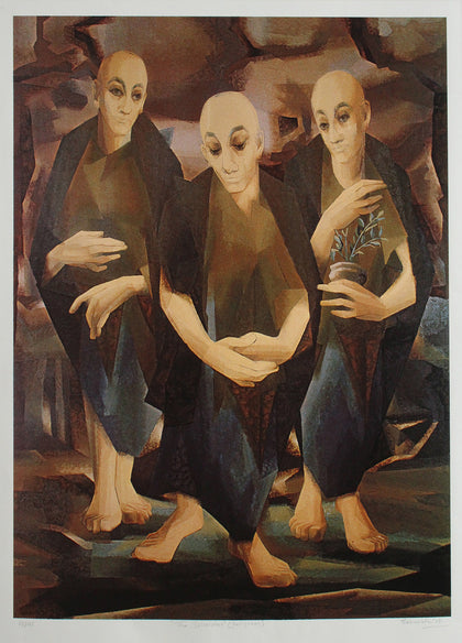 The Disciples,[product_collection],Emami Chisel Art,Jehangir Sabavala - Artisera