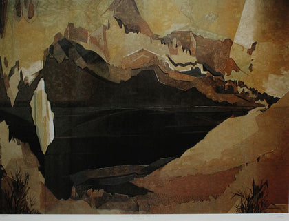 Caverns Measureless to Man - I,[product_collection],Emami Chisel Art,Jehangir Sabavala - Artisera