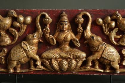 Gajalakshmi Door Panel