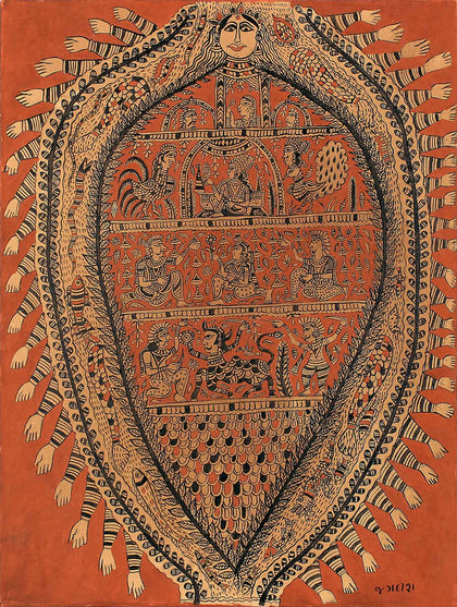 Kalamkari - Untitled 02