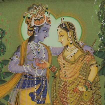 Radha Krishna - II,[product_collection],Artisera Pichwai, - Artisera