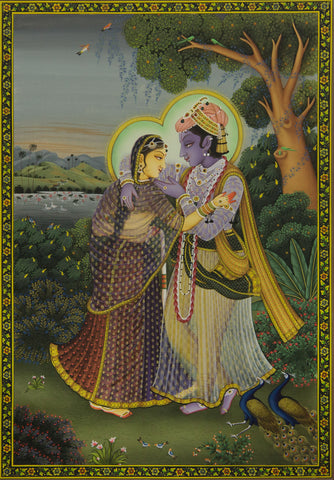 Radha Krishna - III,[product_collection],Artisera Pichwai, - Artisera