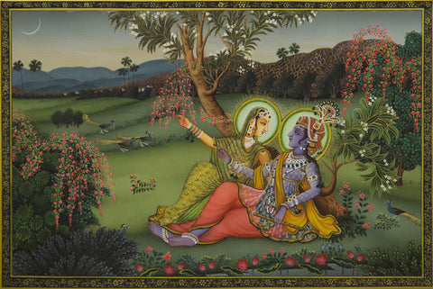Radha Krishna - V,[product_collection],Artisera Pichwai, - Artisera