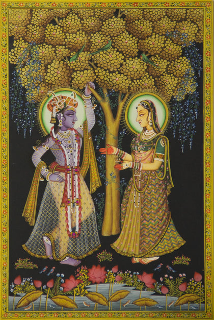 Radha Krishna - VII,[product_collection],Artisera Pichwai, - Artisera