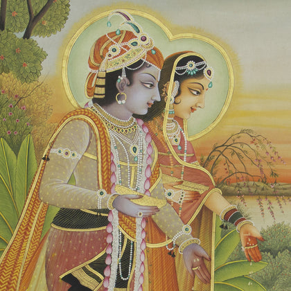 Radha Krishna - VIII,[product_collection],Artisera Pichwai, - Artisera