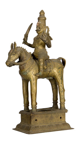 Veerabhadra on Horse