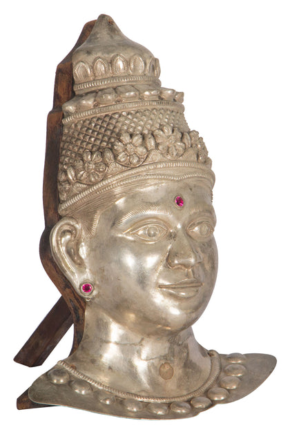 Gowri Head in Silver