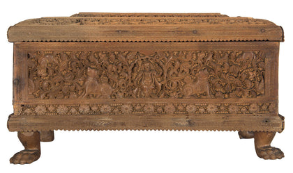 Carved Sandalwood Box