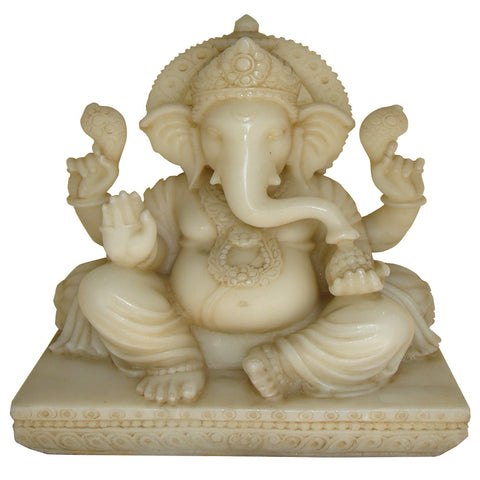 Seated Ganesha,[product_collection],La Boutique, - Artisera
