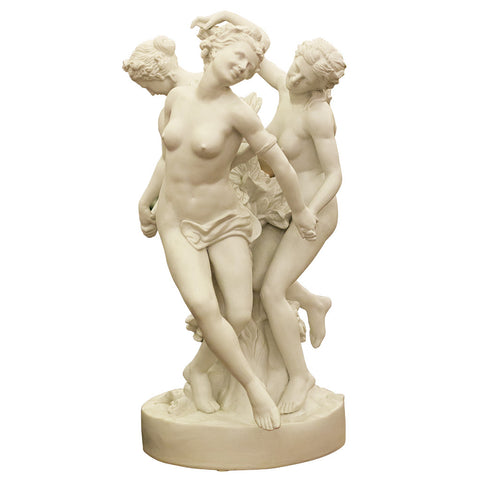 Three Ladies Statue,Navrathan's Antique Art, - Artisera
