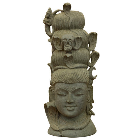 Shiva Head,Navrathan's Antique Art, - Artisera