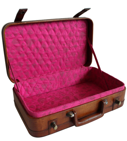 Old Style Trunk with Hot Pink Lining,[product_collection],PortsideCafé, - Artisera