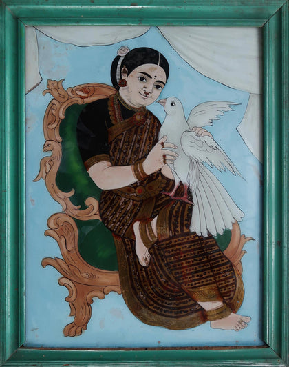Seated Courtesan with a Dove