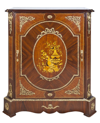 Medium Cabinet with Parquetry Work