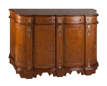 Sideboard with Curved Edges
