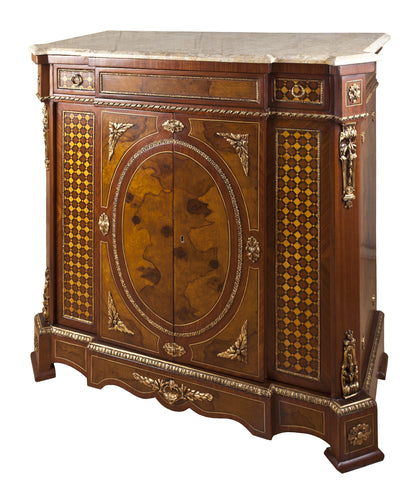 Medium Cabinet with Marquetry Work