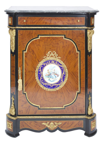 Medium Cabinet with European Painting