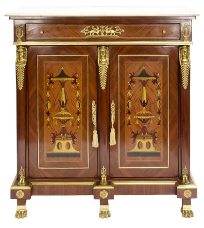 Medium Cabinet with Egyptian Motifs