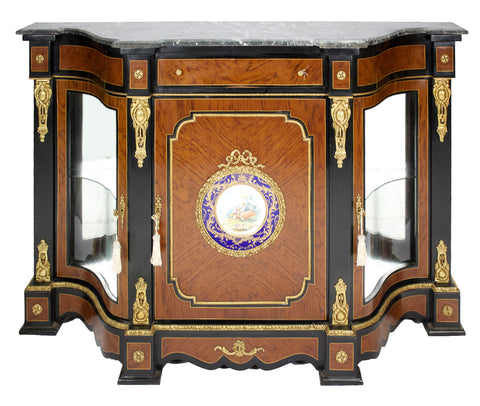 Sideboard with Glass Display