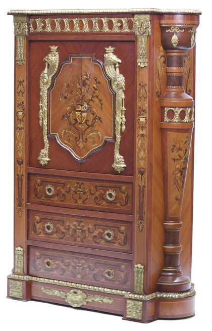 Ornate Bar Cabinet
