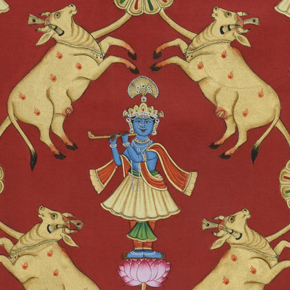 Krishna with Cows - V