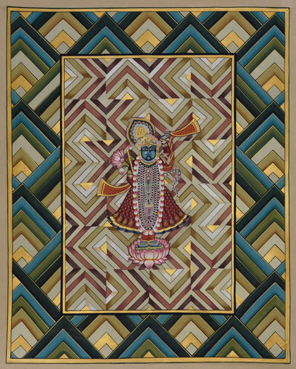Shrinathji on Lotus - II
