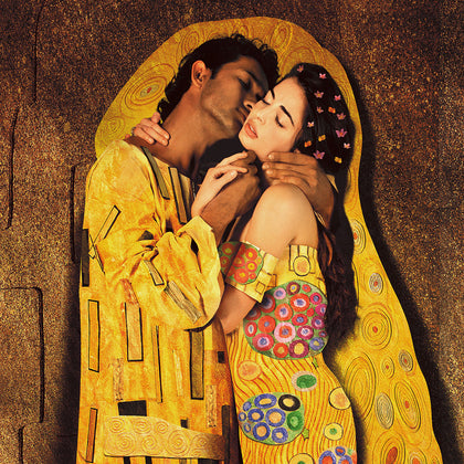 The Kiss (Ayesha Thapar Arora and Anoop Magu), 2010,[product_collection],Tasveer,Rohit Chawla - Artisera