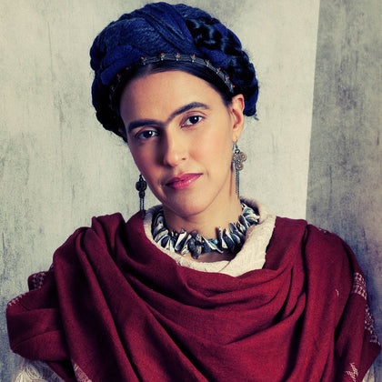 A Photograph of Frida Kahlo (Neha Dhupia), 2012,[product_collection],Tasveer,Rohit Chawla - Artisera