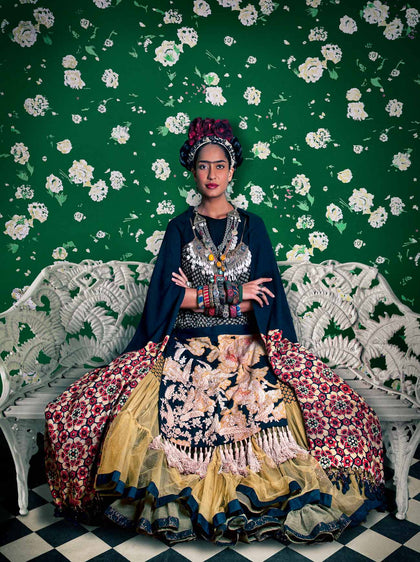 Frida on White Bench (Lisa Haydon), 2012