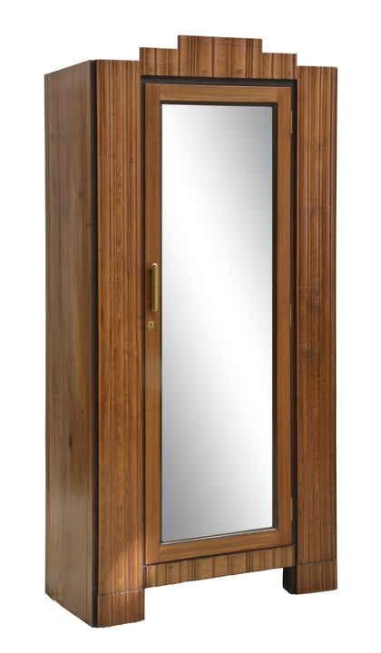Art Deco Cabinet with Mirror Front