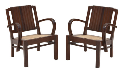 Pair of Art Deco Chairs - I