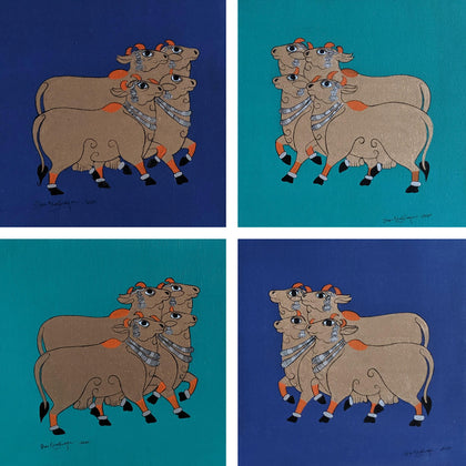 Cows (Set of 4)