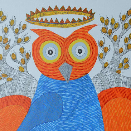 Gond - The Coronation of the Owl