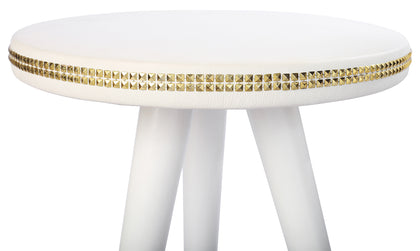 White Sequin Table