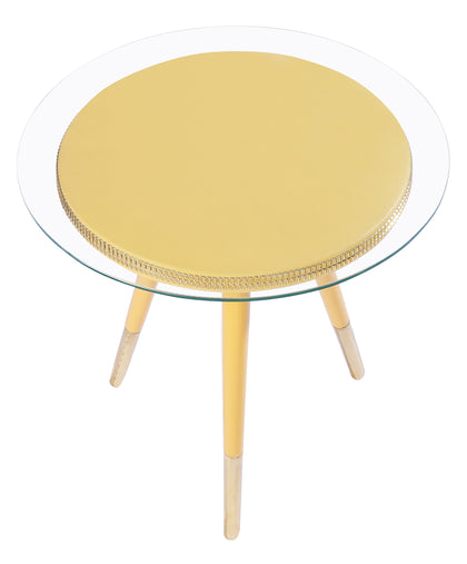 Yellow Sequin Table
