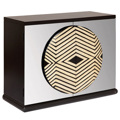 Zulu Mirror Cabinet,[product_collection],Square Barrel, - Artisera