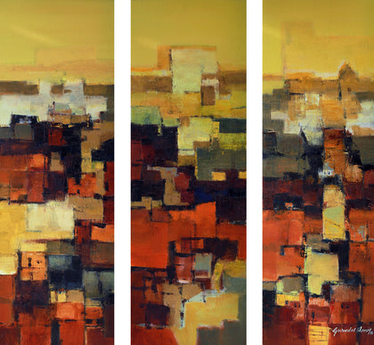 Recounting Memories 23 (triptych)