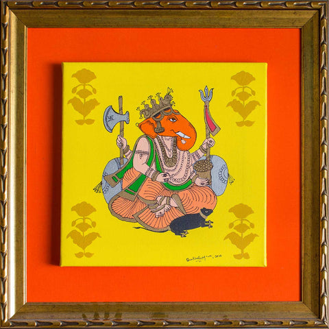Shri Ganesh,[product_collection],Pichwai S,Shan Bhatnagar - Artisera