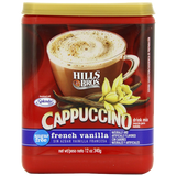 Hills Bros Cappuccino Sugar-Free French Vanilla 12 Ounce