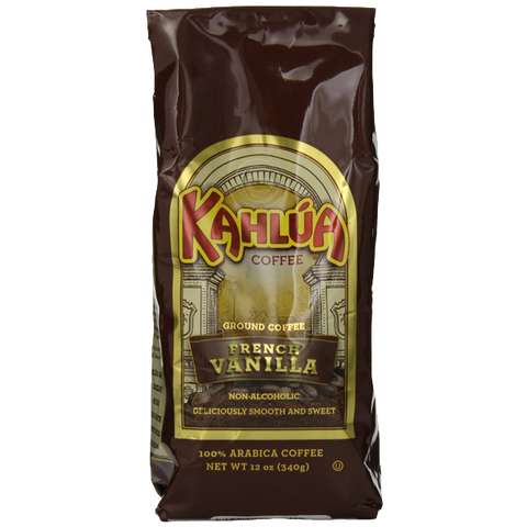 Kahlua Gourmet Ground Coffee French Vanilla 12 Ounce